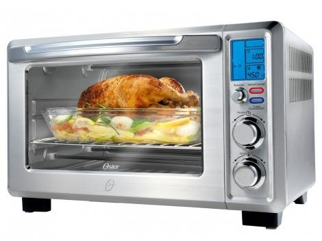 Forno Elétrico Oster Gourmet Collection 22L Timer - com Forma