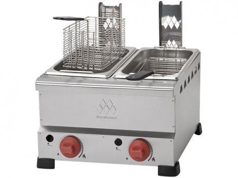 Fritadeira à Gás Industrial Marchesoni - FT.4.428 8L