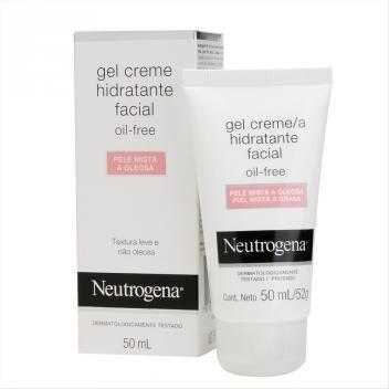 Gel Hidratante Facial Neutrogena Pele Oleosa 50ml - NEUTROGENA