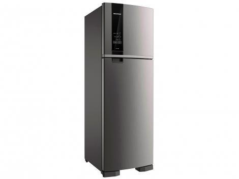 Geladeira/Refrigerador Brastemp Frost Free Evox - Duplex 400L BRM54 HKBNA