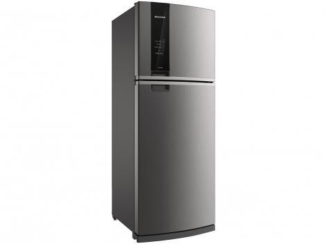 Geladeira/Refrigerador Brastemp Frost Free Inox - Duplex 462L Painel Touch BRM56AKANA