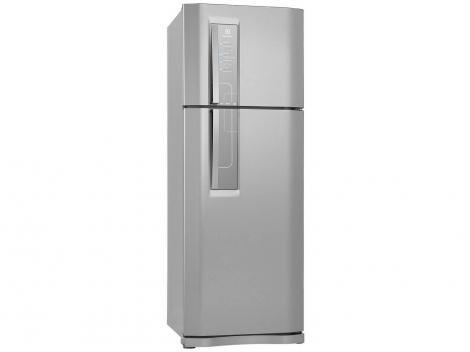 Geladeira/Refrigerador Electrolux Frost Free Inox - Duplex 459L Painel Touch DF52X11006