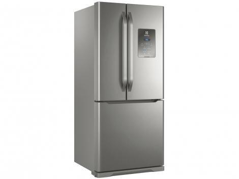 Geladeira/Refrigerador Electrolux Frost Free Inox  - French Door 579L Multidoor DM84X