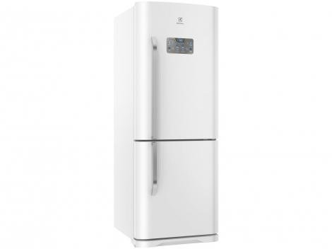 Geladeira/Refrigerador Electrolux Frost Free   - Bottom Freezer 454L Painel Blue Touch DB53 Branca