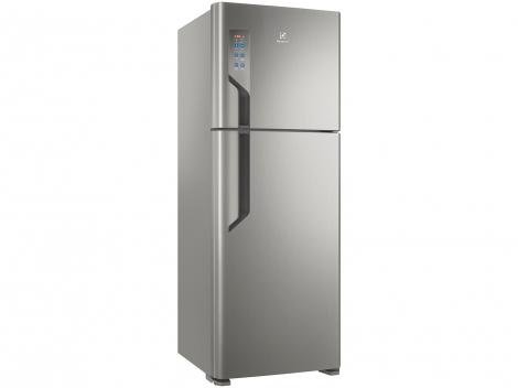 Geladeira/Refrigerador Electrolux Frost Free - Duplex Platinum 474L TF56S Top Freezer