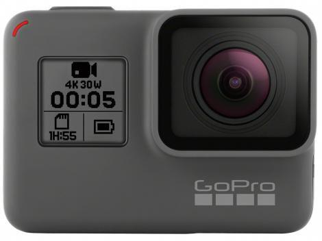 "GoPro Hero 5 Black 12MP Wi-Fi Bluetooth  - Gravação 4K Display 2"" Touch"