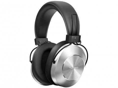 Headphone/Fone de Ouvido Pioneer Bluetooth Sem Fio - com Microfone SE-MS7BT-S