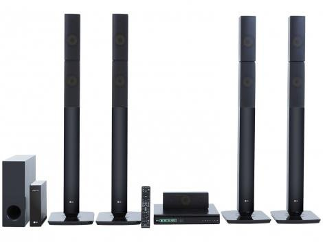 Home Theater LG Wireless Bluetooth  - 1000W 5.1 Canais HDMI LHB655NW