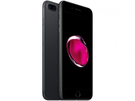 """iPhone 7 Plus Apple 32GB Preto Matte 4G Tela 5.5"""" - Câm. 12MP + Selfie 7MP iOS 11 Proc. Chip A10"""