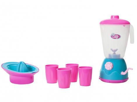 Kit Le Chef Liquidificador  - Usual Brinquedos