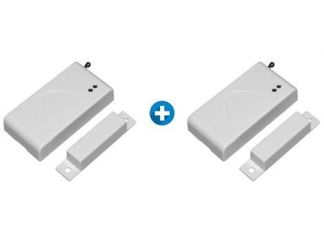 Kit Sensor de Abertura de Portas e Janelas - Sem Fio ON Eletrônicos 2 Unidades