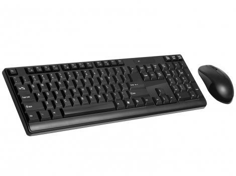 Kit Teclado e Mouse Sem Fio Multilaser - TC162