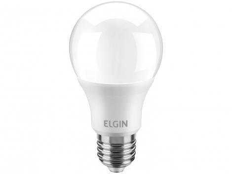 Lâmpada LED 6W 6500K Branco Frio Elgin - Bulbo A55