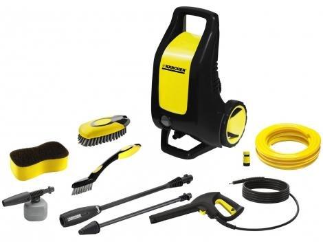 Lavadora de Alta Pressão Karcher K3 Premium Auto - 1740 Libras Mangueira 3m Aplicador de Detergente