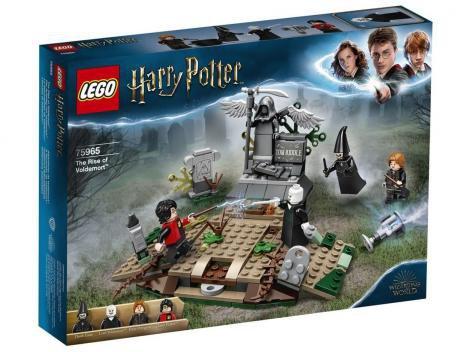 LEGO Harry Potter O Ressurgimento de Voldemort - 184 Peças 75965