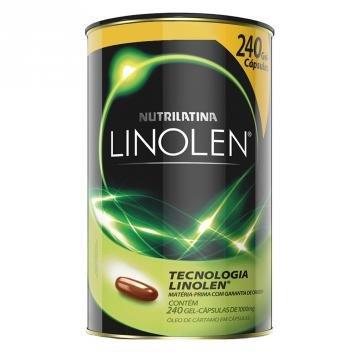 Linolen Nutrilatina - Redutor de Medidas - 240 Gel-Cápsulas - Nutrilatina