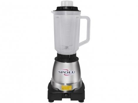 Liquidificador 1,75L Inox Spolu - Gourmet Super 800W Alta Rotação