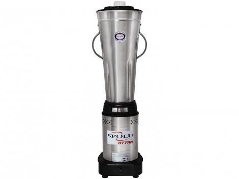 Liquidificador Industrial 8 Litros Spolu Attak - Baixa Rotação 1000W
