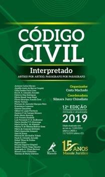 Livro - Código civil interpretado -