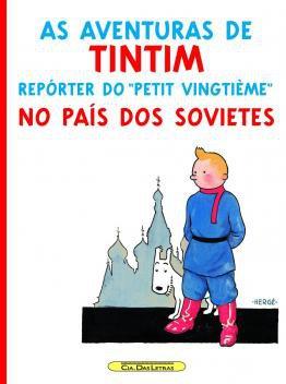 Livro - Tintim no país dos sovietes -