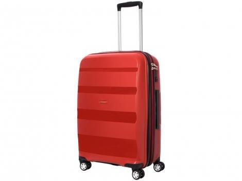 Mala de Viagem Samsonite Média - Expansiva Spin Air 621000066 Vermelha