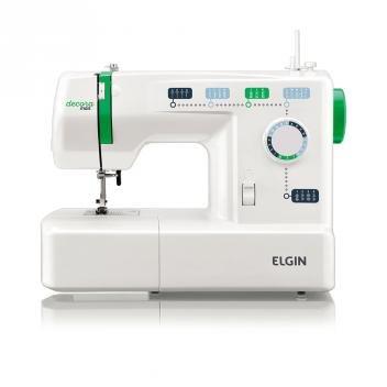 Máquina de Costura Portátil Decora Mais JX-2011 - Elgin - 110v - Elgin