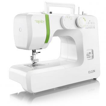 Máquina de Costura Portátil Trendy JX-3013 - Elgin - 110V - Elgin
