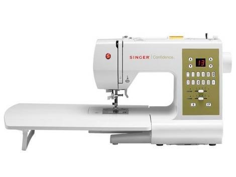 Máquina de Costura Singer Confidence Quilter 7469Q - 90 PontoS Sistema de Bobina Drop & SewTM e
