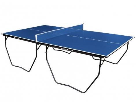 Mesa para Tênis de Mesa Dobrável com Rodízios - Klopf com Suporte e Rede