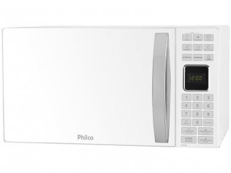 Micro-ondas 25L Philco PMO25B - Branco