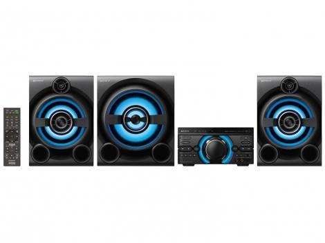 Mini System Sony Bluetooth 2150W CD Player DVD - Karaokê HDMI MHC-M80D