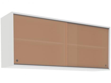 Módulo de Armário Aéreo Madesa Glamy Smart - G2512509RF 2 Portas 120x50cm
