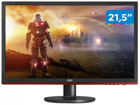 "Monitor Gamer Full HD AOC LED Widescreen 21,5"" - Speed G2260VWQ6"