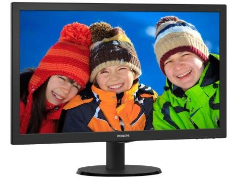 "Monitor para PC Full HD Philips LED Widescreen - 27,6"" 273V5LHAB"