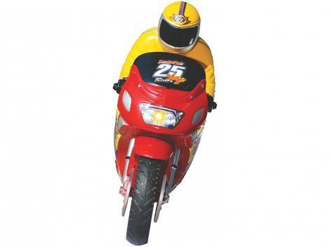 Moto de Fricção Motoracer  - Lider Brinquedos