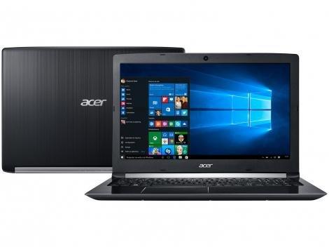 "Notebook Acer Aspire 5 A515-51G-58VH Intel Core i5 - 8GB 1TB 15,6"" Placa de Vídeo 2GB Windows 10"