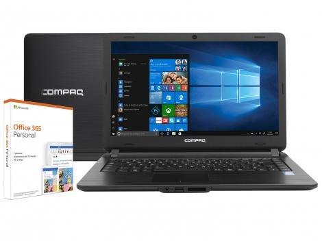 "Notebook Compaq Presario CQ-21N Intel Core i3 4GB  - SSD 120GB 14"" Windows 10"