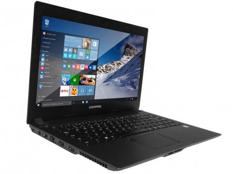 "Notebook Compaq Presario CQ-23 Intel Dual Core - 4GB 500GB LED 14"" Windows 10"