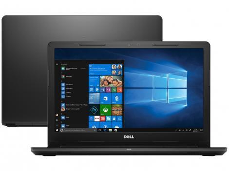 """Notebook Dell Inspiron 15 I15-3567-A15P - Intel Core i3 4GB 1TB 15,6"""" Windows 10"""
