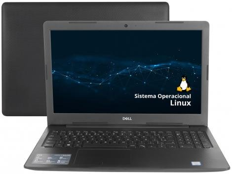"Notebook Dell Inspiron i15-3584-D10P Intel Core i3 - 4GB 1TB 15,6"" Ubuntu Linux"