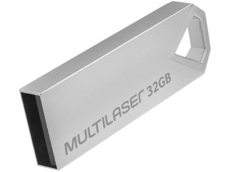 Pen Drive 32GB Multilaser PD851 - USB 2.0