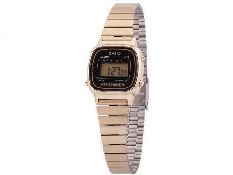 Relógio Feminino Casio Digital LA670WGA-1DF - Dourada