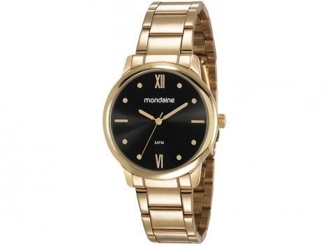 Relógio Feminino Mondaine Analógico - 53805LPMGDE2 Dourada