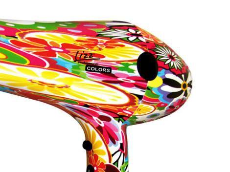 Secador de Cabelo LIZZ Profissional 3800 Colors - 1900W 3 Velocidades