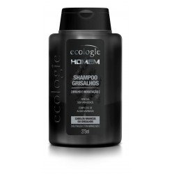 Shampoo Ecologie Homem Grisalhos 275ml - ECOLOGIE