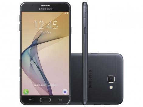 Smartphone Samsung Galaxy J7 Prime 32GB Preto - Dual Chip 4G Câm 13MP + Selfie 8MP Flash Tela 5,5""