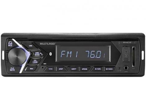 Som Automotivo Multilaser MP3 Player Radio FM - USB Auxiliar Prime