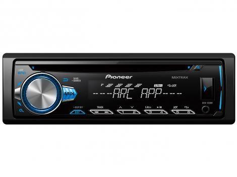 Som Automotivo Pioneer DEH-X10BR - CD Player MP3 Player Rádio AM/FM