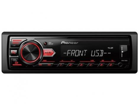 Som Automotivo Pioneer MP3 Player AM/FM USB  - Auxiliar MVH-98UB
