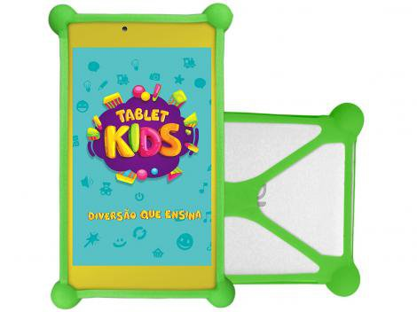 "Tablet DL Kids TX394BBV 8GB 7"" Wi-Fi Android 7.1.2 - Proc. Quad Core Câmera Integrada"